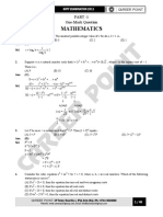 KVPY Paper Solution XII 30-10-11