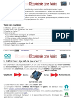 Decouverte Arduino