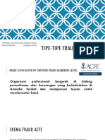 Presentasi Bab 3 Fraud Dan Atestasi (Tipe-Tipe Fraud)