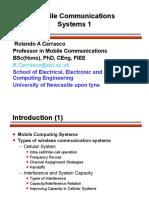 Mobile Computing Systems 1