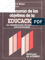 Bloom, Benjamin. Taxonomia de los objetivos de la educacion.pdf