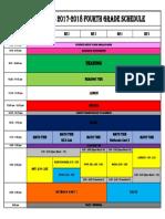 2017-2018 evas schedule