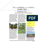 January 2008 Seattle Spin Newsletter, Cyclists of Greater Seattle