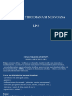 Lp 8 - Patologia Tiroidiana Si Nervoasa