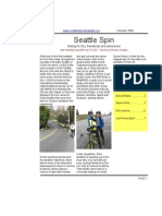 February 2009 Seattle Spin Newsletter, Cyclists of Greater Seattle