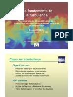 ENPC Fondements Turbulence
