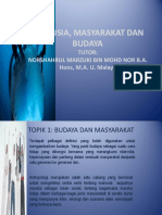 Manusia, Masyarakat Dan Budaya Abxm1103