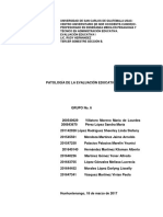 Patología General de La Evaluación Educativ1