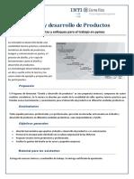 Programa Diseño y Desarrollo de Productos Inti