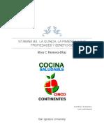 VITAMINA B3,  LA QUINOA, LA PIMIENTA Y SUS PROPIEDADES Y BENEFICIOS  Irina C Herrera-Diaz