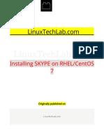 Installing SKYPE on RHEL CentOS 7