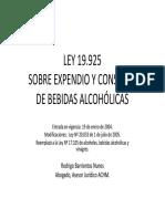 Ley 19.925