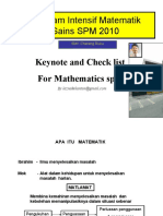 ProIntensif MateSains SPM 2010