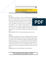 VINCI, C. A problematização e as pesquisas educacionais - sobre um gesto analítico foucaultiano.pdf