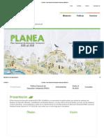 PLANEA - Plan Nacional de Educación Ambiental _ MINEDU