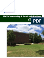 community  service ibcp guidelines class of 2018