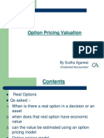 PPT3_Option Pricing Valuation