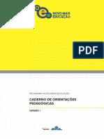 Caderno de Orientações Pedagógicas Pnme