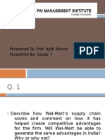 Walmart GroupG