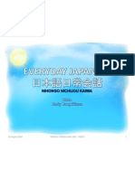 Bahasa Jepang Sehari-hari (Harly Tangkilisan)