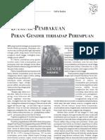 Pembakuan Peran Gender