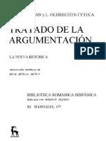 Perelman Y Olbrechts - Tratado de La Argumentacion (851 Pag)