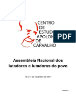 Assembleia Nacional PROJETO