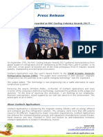 Press Release - Rac Cooling Awards