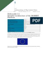 D2.1 Detailed Architecture of the HOBBIT Platform