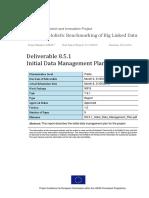 D8.5.1 Initial Data Management Plan