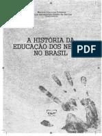 A Historia Dos Negros Na Educao No Brasil