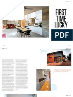 Sanctuary magazine issue 12 - First Time Lucky - Perth Hills, WA green home profile