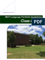 language portfolio ibcp guidelines class 0f 2019