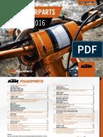 KTM PowerParts - Offroad Catalog 2016