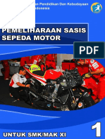 Pemeliharaan Sasis Sepeda Motor Kelas XI Semester 1