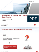 Introduction to Key LTE TDD Features Issue 2-Beamforming