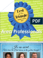 2017 Best Professionals of the Triangle