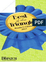 2017 Best of the Triangle