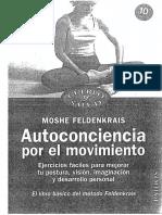 Moshe - Autoconciencia Por El Movimiento -