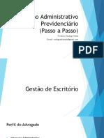 Processo Administrativo Previdenciário (Passo a Passo)