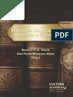 ACERVOS ESPECIAIS Memorias e Dialogos