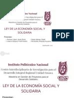 Ley Economia Solidaria