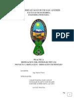 Proyecto 1 Simulación – Refinación de Petróleo