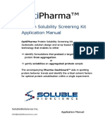 Protein Solubility And Stability Kits