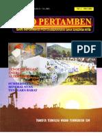 Info Pertambangan NTB Edisi 01 - 2001
