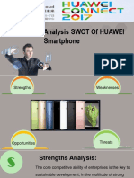 Analysis SWOT of HUAWEI Smartphone