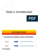 Tema2-DIVISIBILIDAD