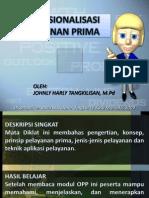 Operasionalisasi Pelayanan Prima (Harly Tangkilisan)