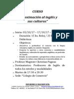 INVITACIÓN CURSO Inglés Definitivo