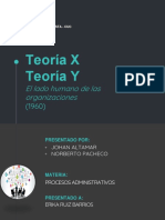 Teoria X y Y
